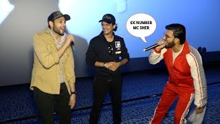 Ranveer Singh And Siddhant Chaturvedi Surprises Everyone In Theater Audience Watching Gully Boy