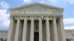 Political Website Design In Woodville Texas
