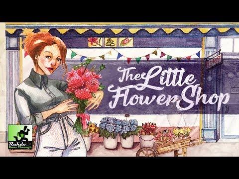 Little Flower Shop Gameplay Runthrough