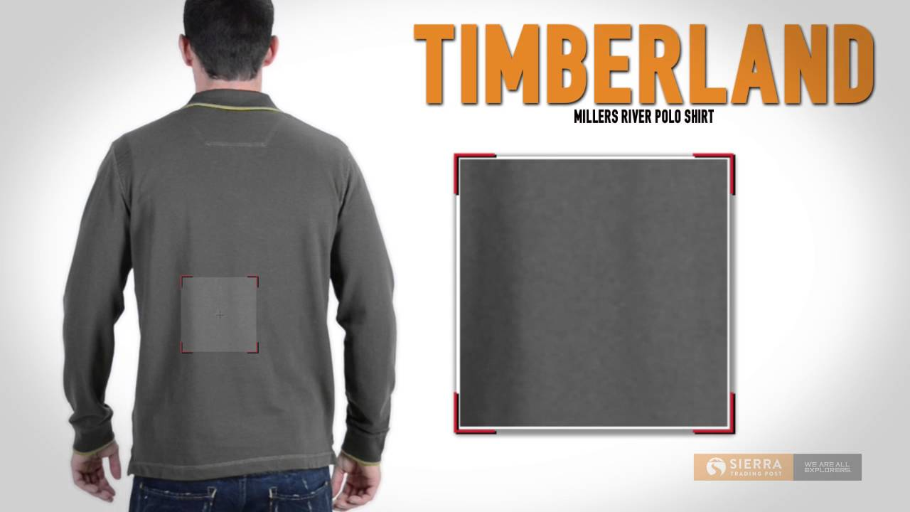 0e81937ad Timberland Millers River Polo Shirt - Long Sleeve (For Men) - YouTube