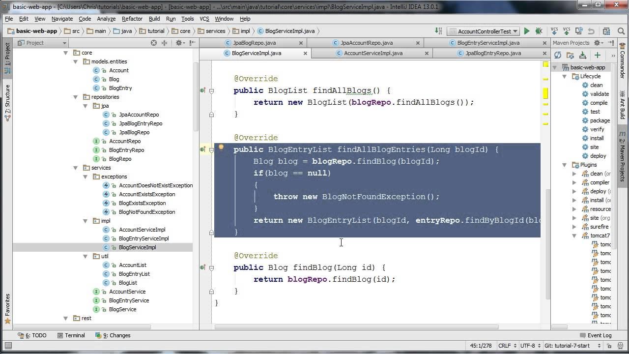 Web development using spring and angularjs tutorial 7 youtube web development using spring and angularjs tutorial 7 baditri Images