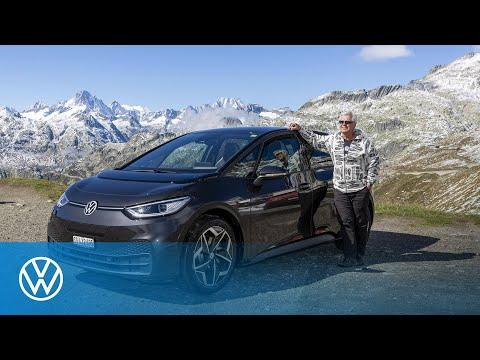 Reichweitenrekord: ID.3 fährt mit nur einer Batterieladung von Zwickau in die Schweiz