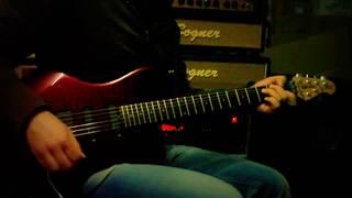 Music Man Luke I Floyd rose - Bogner Ecstasy 101B channel blue