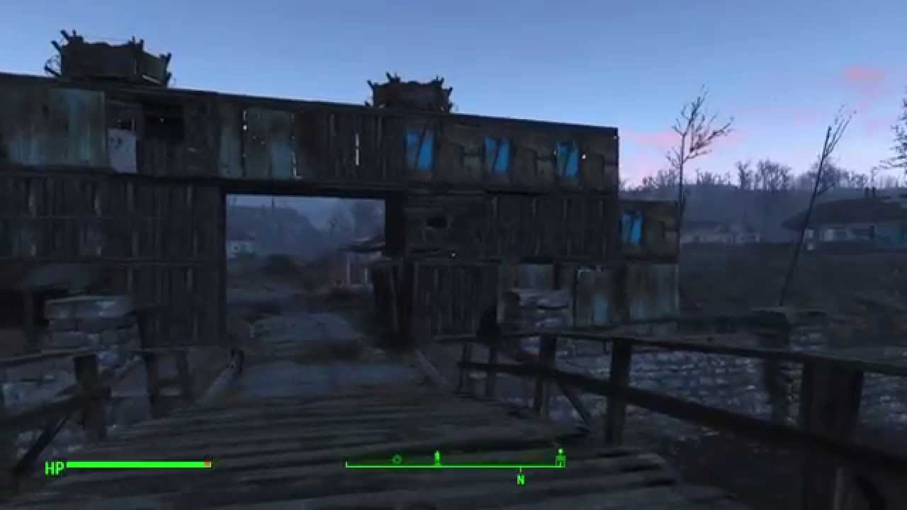 how to build a gate fallout 4
