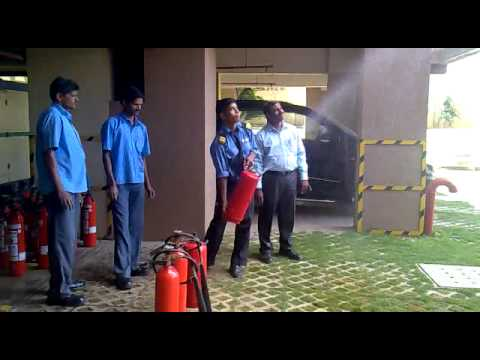 Water Extinguisher random testing