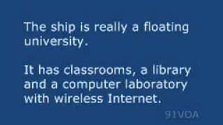 【91VOA英語を学ぶ】バージニア大学の海の学期'のための新しいホームです