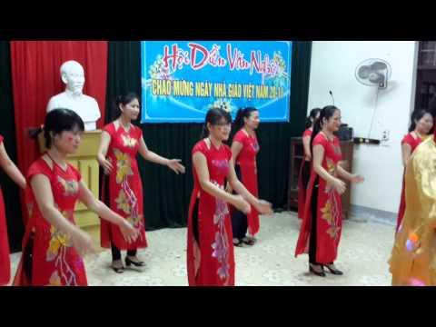 Múa Trống cơm - Tổ Ngữ Văn - Trường THPT Lê Viết Thuật - TP Vinh - Nghệ An