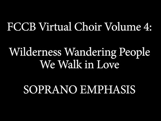 Virtual Choir 4 Singalong soprano emphasis