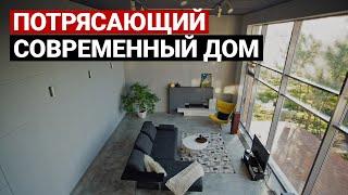 Обзор дома, 330 кв.м. Дизайн интерьера в современном стиле. Рум тур