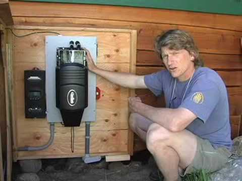 Island Energy Systems Tour   Off Grid Solar Electric   YouTube
