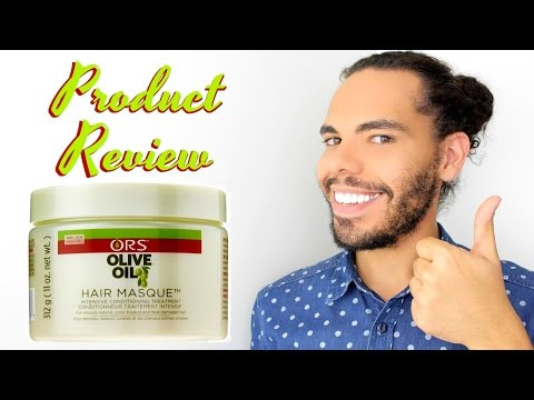 ORS Olive Oil Hair Mask Intensive Deep Conditioner For Curly Natural, Relaxed,Colored, Bleached Hair
