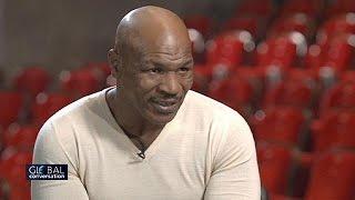 """Mike Tyson : """"on apprend l'humilité en vieillissant"""""""