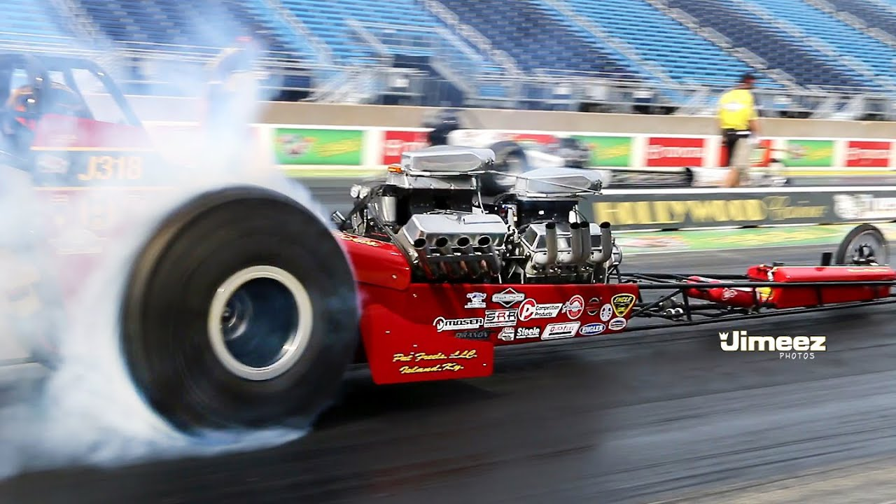 NDRL~ FRONT ENGINE DRAGSTERS~ALTEREDS AT RT66 CLASSIC 2014