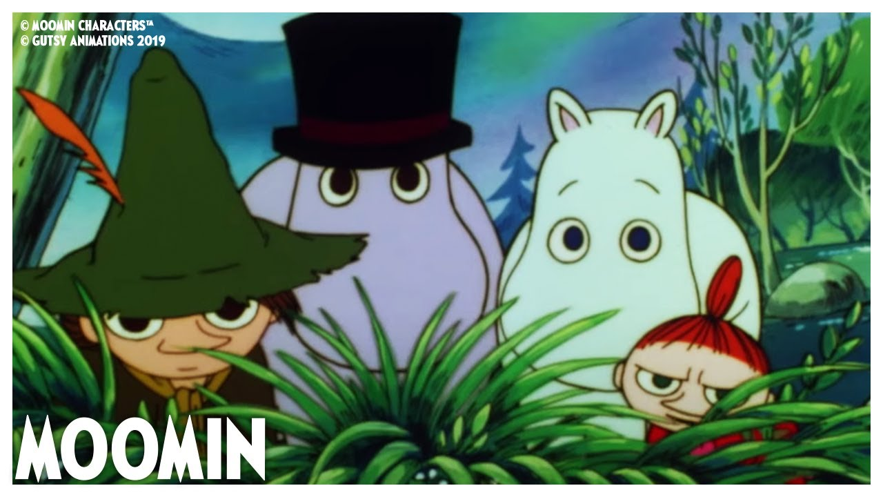 They Can't See Us! 👀Moomin 90s Marathon | Full Episodes 7 - 10 | Moomin Official