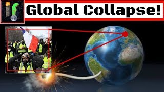 The Collapse of the West. French riots and economic crash!