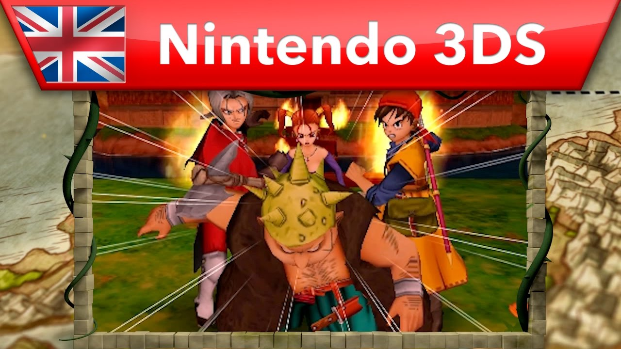 DRAGON QUEST VIII: Journey of the Cursed King | Nintendo 3DS