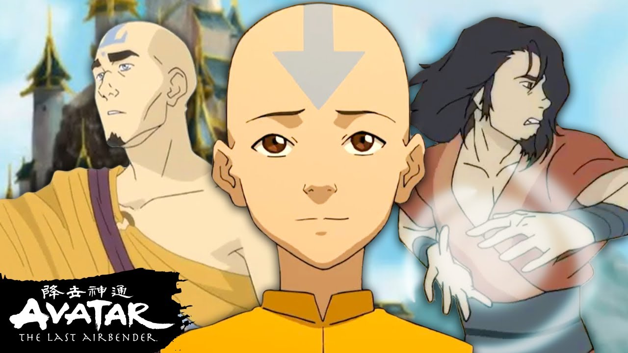 The Complete History of Airbending in Avatar!   ATLA