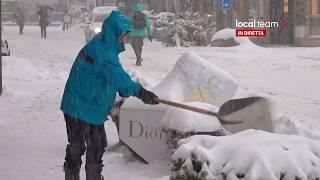 LIVE Nevica su Madonna di Campiglio (Trento)