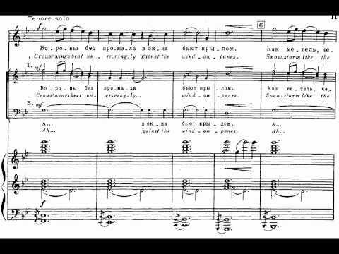 Sviridov - 01 My Dear Land Deserted Lay