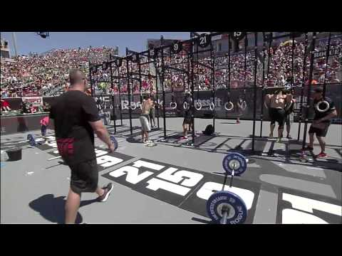 2012 CrossFit Games - Men's Final: Elizabeth, Heat 1, 2 & 3