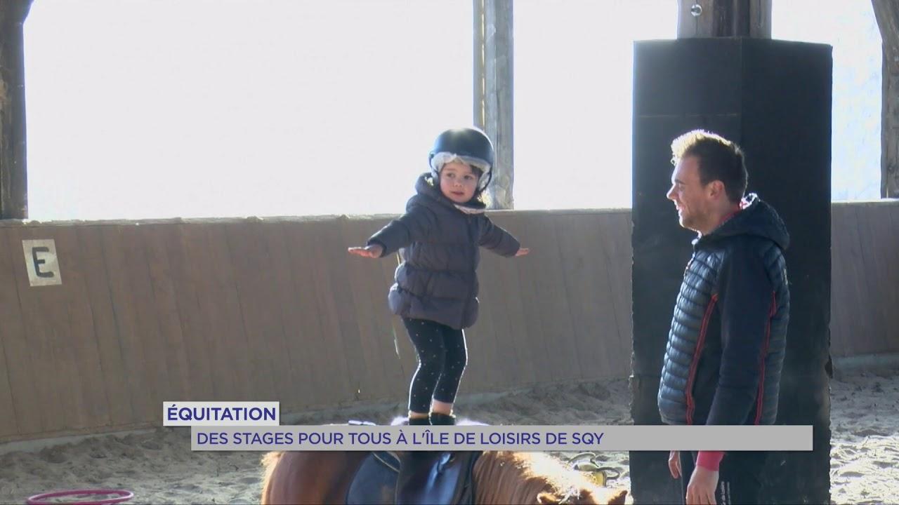 Équitation : des stages pour tous à l'île de loisirs de SQY