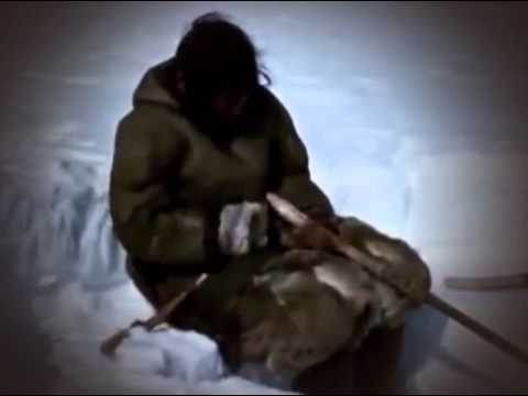 History Documentary │ Inuits fishing in the ice 1967 │Jigging for Lake Trout │