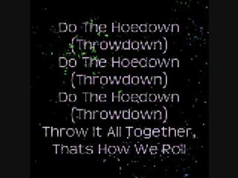Hannah Montana: Hoedown Throwdown (zig zag) Lyrics