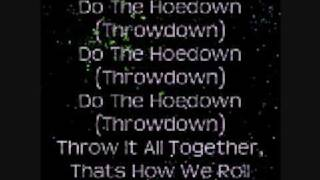 Hannah Montana: Hoedown Throwdown (zig zag) Lyrics