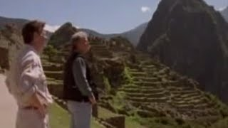 Michael Palin in Machu Picchu - BBC