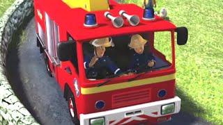 Dans le camion de pompiers! ⭐️ Sam le Pompier | Meilleures vidéos de pompier | Dessin animé