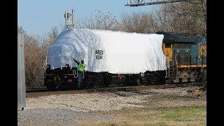Railfanning CSX Howell Yard Evansville Indiana March 2018 Vol 1