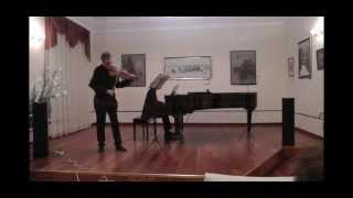 Friedrich CERHA - Two violin pieces(Victor Abramyan, Mikhail Turpanov).wmv