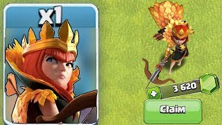 "Clash of clans Gemming💎EVERYTHING💎Season 6 Pass ""Autumn Queen Skin"""