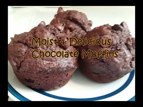 moist-&-delicious-chocolate-muffins