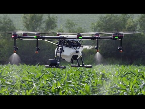 Download Youtube: DJI MG-1S - Agricultural Wonder Drone