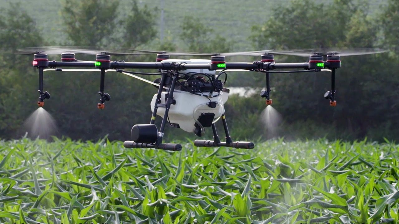 DJI MG-1S - Agricultural Wonder Drone - YouTube