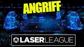 Zum ANGRIFF 🔫 Laser League Gameplay Deutsch 🔫 baastiZockt