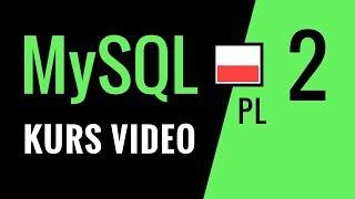 Kurs MySQL odc. 2: Złożone zapytania wyszukujące. Księgarnia online