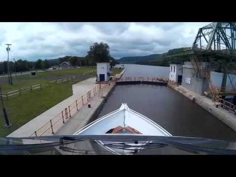 Erie Canal Lock 13 time lapse