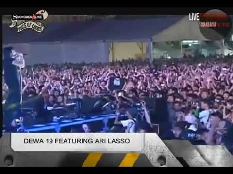 Live Konser Soundrenaline Surabaya 2014  DEWA 19 Featuring  ARI LASSO