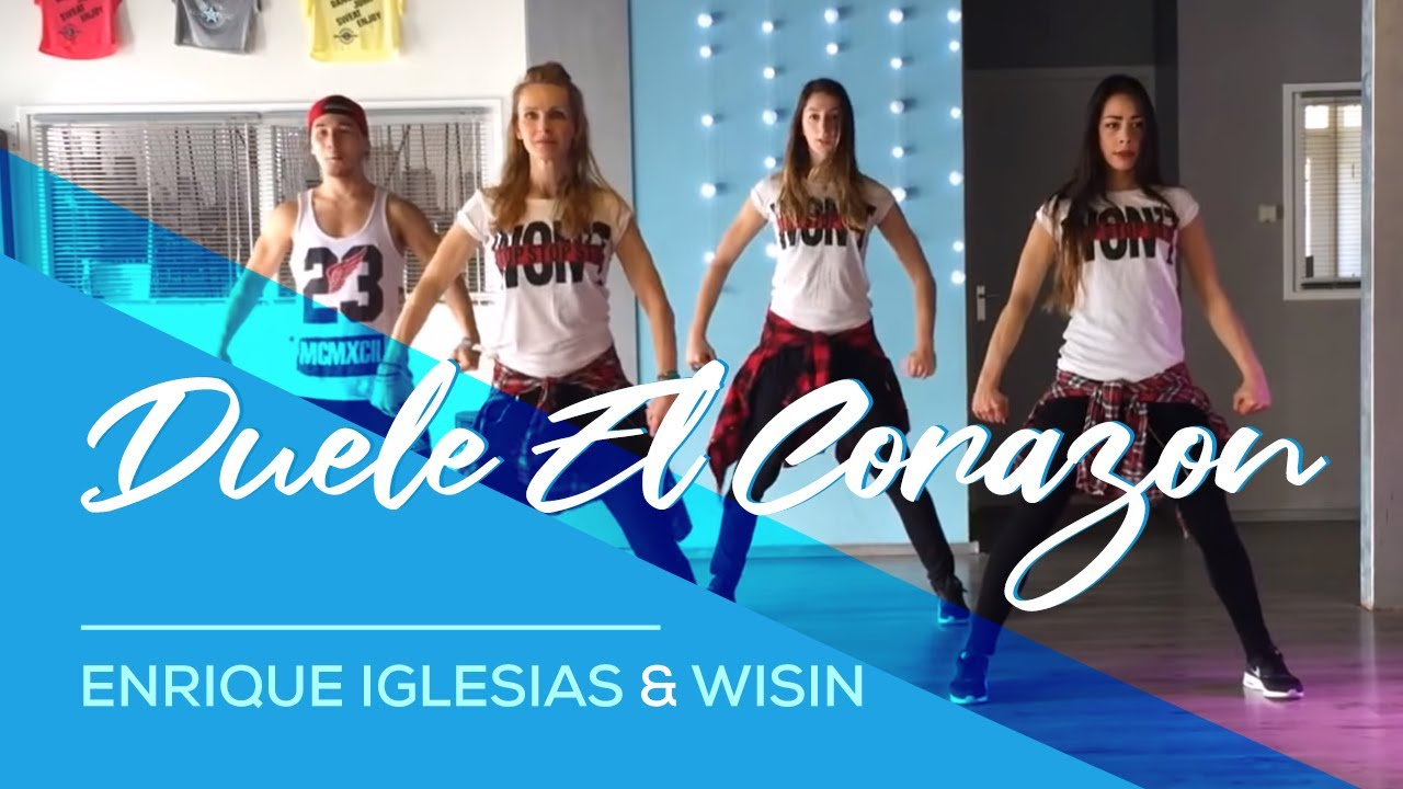 Duele El Corazon - Enrique Iglesias ft Wisin - Fitness Dance Choreography #1