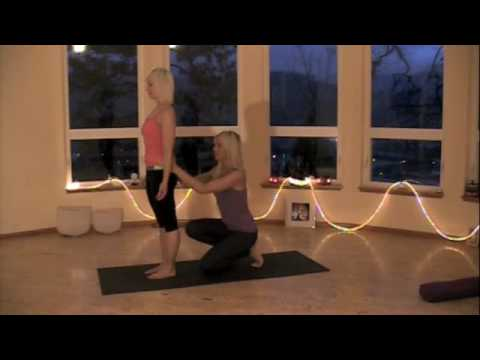 yoga adjustments tadasana  youtube