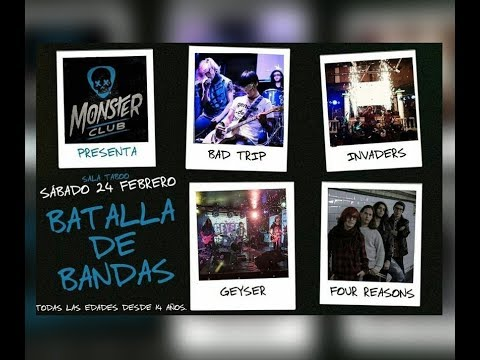 Blog batalla de bandas en Monster Club