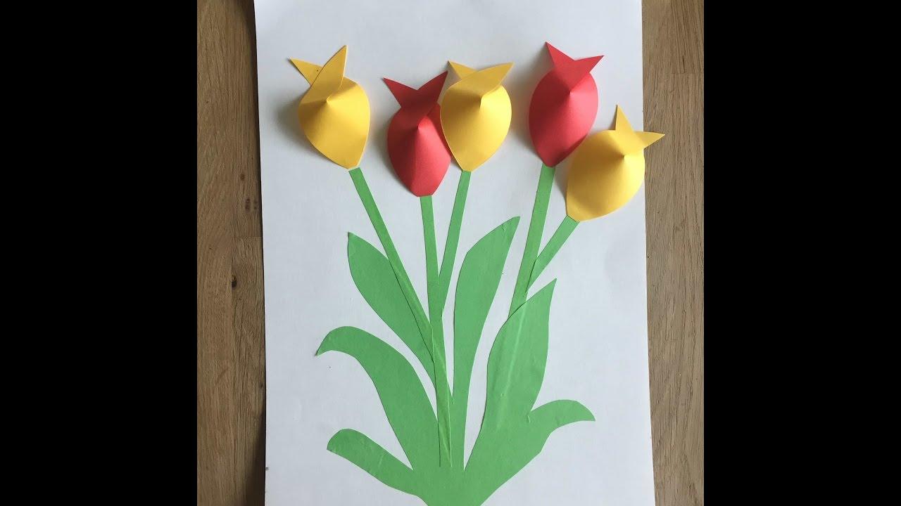 открытка с тюльпанами к 8 марта с детьми всегда получать