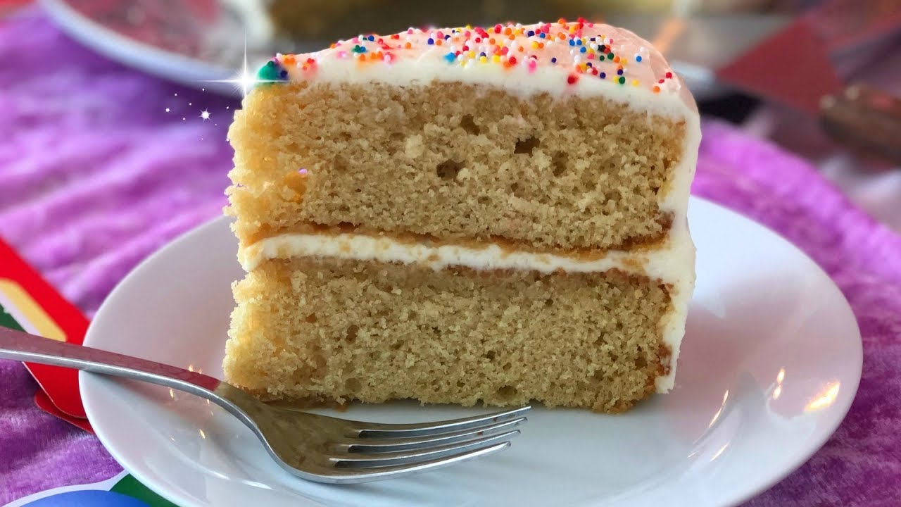 Best Ever Vanilla Birthday Cake How To Make Vanilla Layer Cake