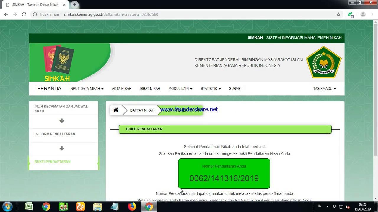 04. entry simkah web online cara entry daftar nikah simkah ...
