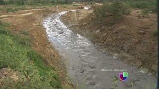 Río Sonora fue contaminado por miles de galones de ácido sulfúrico