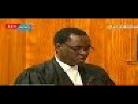 Uhuru's lawyer, Ken Ogeto's submission on election offences