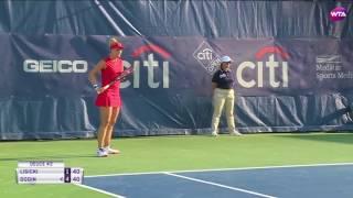 2017 Citi Open Quarterfinals | Shot of the Day | Sabine Lisicki