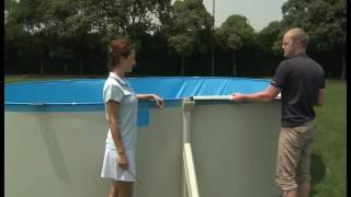 Сборный бассейн Bestway Hydrium (740х360х120) с песочным фильтром